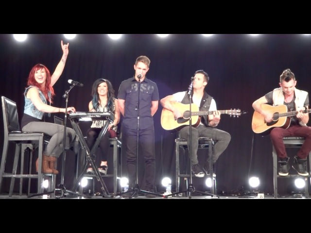 Fan Sings Monster Acoustic With Skillet