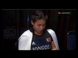 Красивая монголка тяжелоатлетка 18-летняя. Мечта казаха