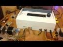 Контроллер MicroNC и TB6560 настроены