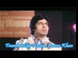 O sathi re tere Bina Hindi English Subtitles Full Video SOng