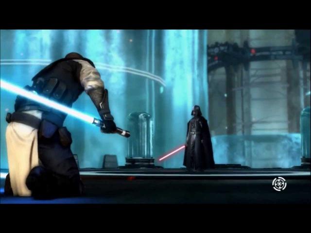 Клип. Star wars the force unleashed 2. 2 часть