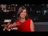 ИНТЕРВЬЮ: Эмилия Кларк на шоу Джимми Киммела
