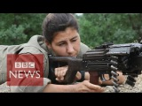 Kurdish &amp Yazidi women fighting ISIS - BBC News