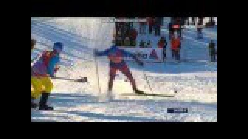 Сергей Устюгов выигрывает гонку преследования. Квебек. Тур Канады/Sergey Ustiugov wins pursuit