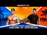 WWE SummerSlam 2015 : John Cena vs Seth Rollins WWE And United States Championship