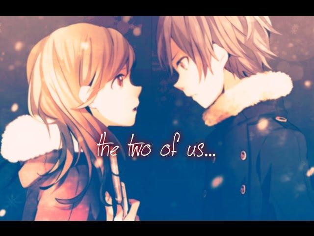 Аниме клип про любовь Мы вдвоем...