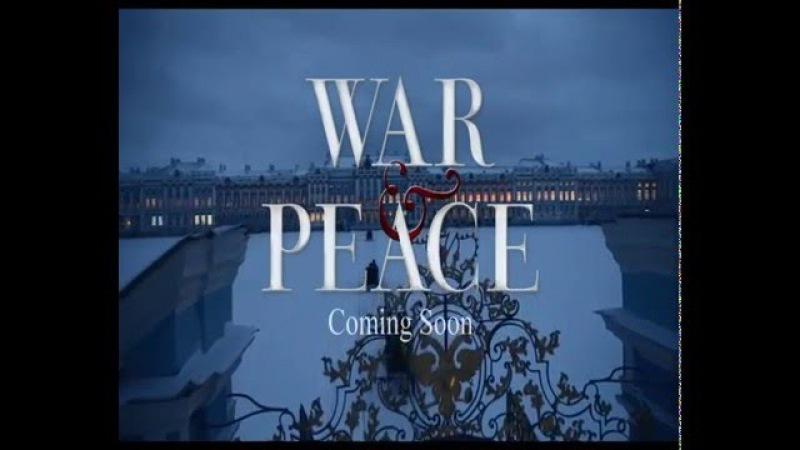 War and Piece Война и Мир BBC 2016 Promo Промо Trailer Трейлер 1 Серия Сезон 0 1 2 3 4 5 6 7 8 9 10 смотреть онлайн без регистрации
