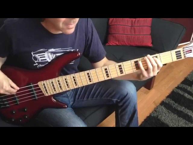 Adam Nitti - Cosmic Underground - complete recorded bass performance