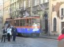 Трамвай у рекламі Сільпо у Львові (1006)