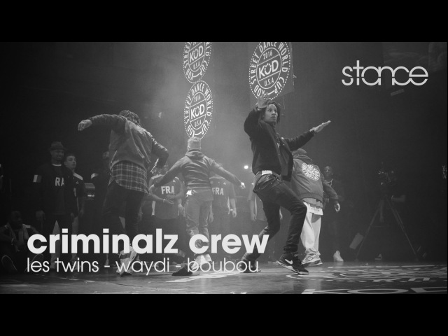 Criminalz Crew at KOD 2016 Finals .stance LES TWINS, WAYDI, BOUBOU