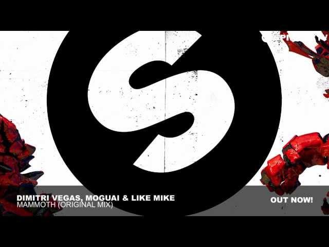 Dimitri Vegas, MOGUAI Like Mike - Mammoth (Original Mix)