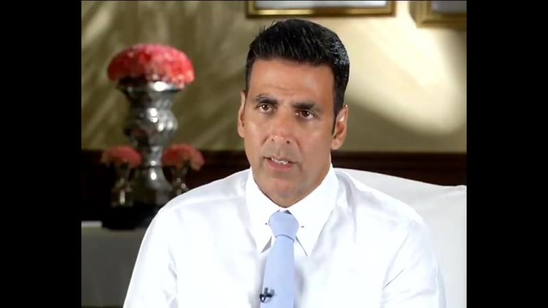 Интервью CNN-IBN's: Акшай готов стать послом бренда кампании Невероятная Индия