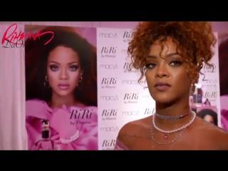 Интервью Рианны на презентации нового аромата «RiRi», 31 августа