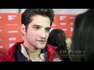 "Остин Батлер и каст фильма ""Любители Йоги"" на фестивале Sundance (24-26.01.16)"