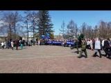 Возложение в день памяти катастрофы ЧАЭС