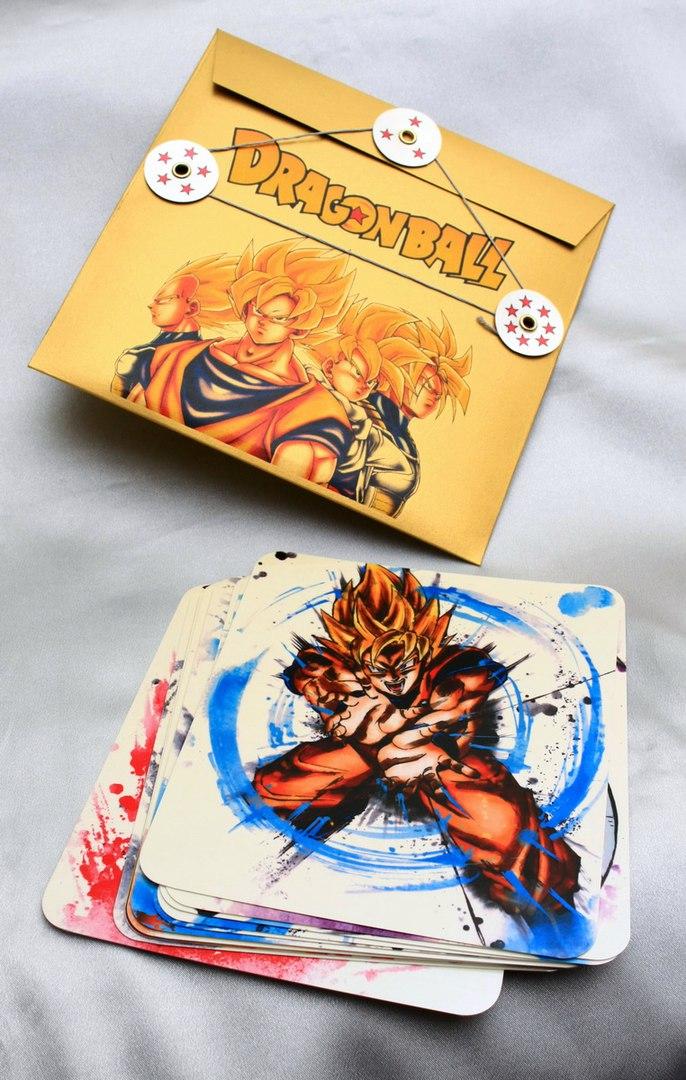 Купить открытки Dragon Ball Z