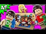 Lego Ideas Етория большого взрыва / The Big Bang Theory 21302 Stop Motion Build Review