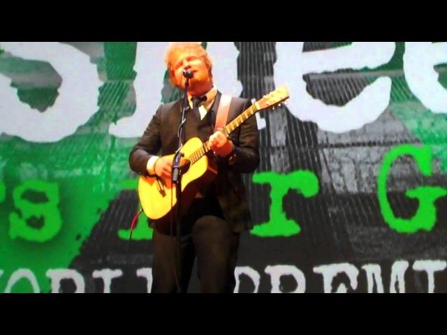 Ed Sheeran - Tenerife Sea @ The Jumpers for Goalposts premiere 221015