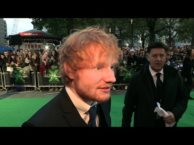Ed Sheeran Jumpers For Goalposts- Premiere Report