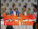 Hannibal Press Panel ComicCon 2015 Hugh Dancy Bryan Fuller Richard Armitage