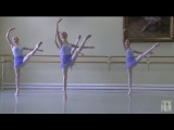 Vaganova Ballet Academy. Jumps, Classical Dance Exam. Girls, 4th class. 2015