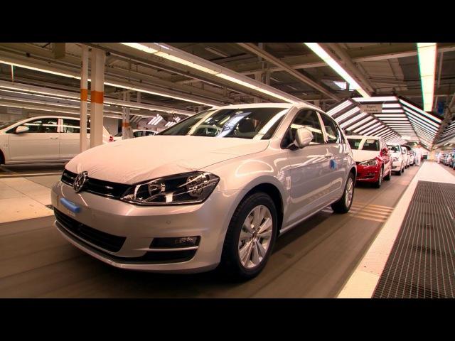 VW Golf Mk 7 Production, Wolfsburg plant, 2013