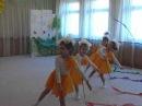 Танец с гимнастическими лентами. Постановка Гуровой Елены