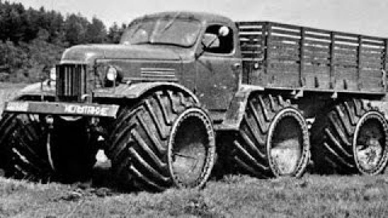 Советские вездеходы, не знавшие преград
