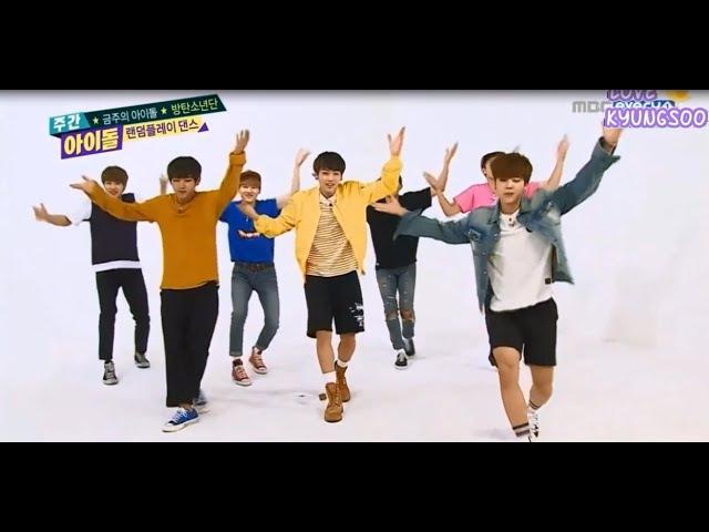 [Eng Sub] 150617 BTS Bangtan Boys (방탄소년단) Random Play Dance Weekly Idol Ep 203