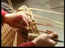 How to make a handwoven wicker basket?