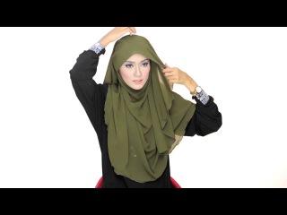 : Hijab Queen, как завязать хиджаб hijab tutorial ...