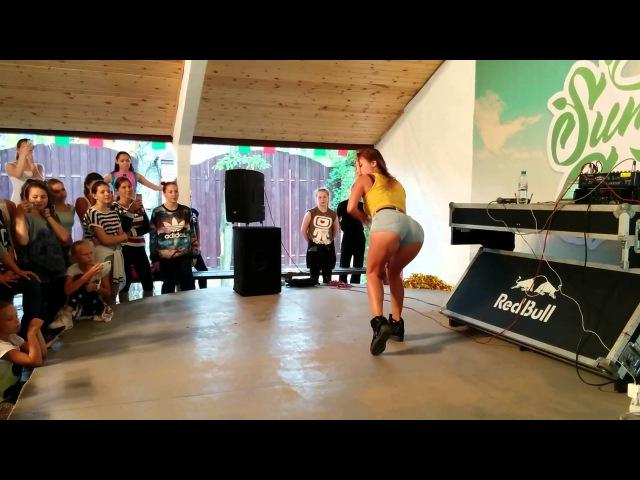 Елена FRAULES Яткина | female dancehall in SUMMER GROOVE DANCE CAMP 2015
