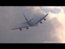 Сквозь облака. Emirates A380