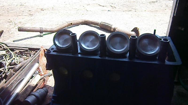 Зборка мотора Бешенной копейки