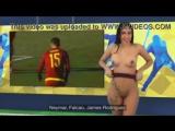 1.3 Горячие тела. Венесуэльская телеведущая Юви Пальярес. Обзор футбольных матчей