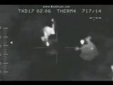 Мутанты из ЧАЭС разорвали военного! (Заснято с тепловизора)