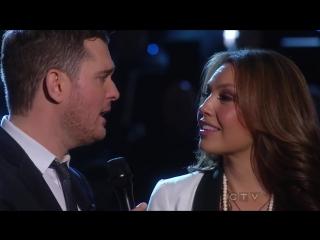 Michael Buble  Thalia  - Feliz Navidad (Mis Deseos) HDTV live