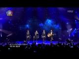 EXO (BaekHyun, SuHo, D.O, ChanYeol) -  Sabor A Mi (141112 Music Bank in Mexico)