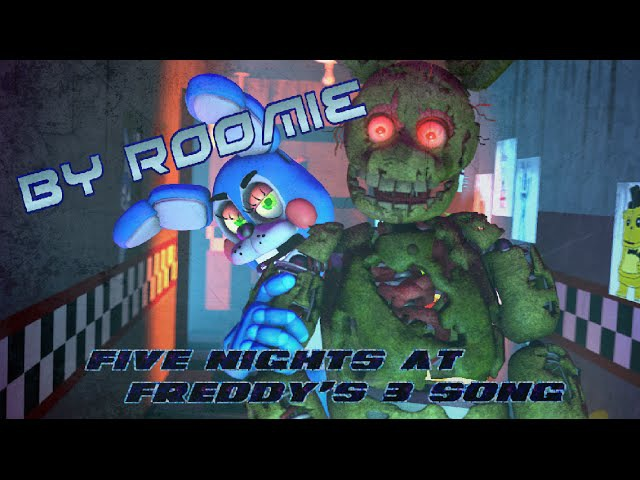 SFM| Madness of colours | Roomie - Five Nights At Freddys 3 song