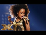 Fleur East sings Bruno Mars &amp Mark Ronsons Uptown Funk The Final Results The X Factor UK 2014
