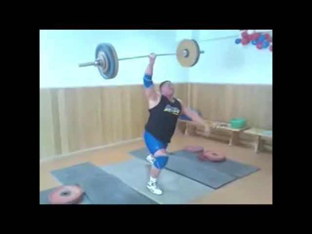 Михаил Кокляев рывок одной рукой 110 кг 2008 год One handed snatch 110 kg смотреть онлайн без регистрации