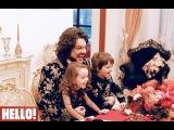 Филипп Киркоров и его дети Алла-Виктория и Мартин. Видеоэксклюзив HELLO Russia