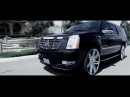 2012 Cadillac Escalade ESV with Lexani 28 Johnson II Wheels