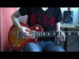 Scorpions - Rock you like a hurricane (guitar cover + solo)