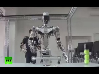 First Test: Human-like robot put through paces in Russia