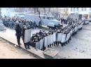 Противостояние на Грушевского Беркут 20 01 2014