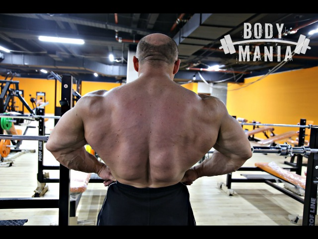 Спина мутанта. Хочешь широкую спину Советы Ивана Водянова