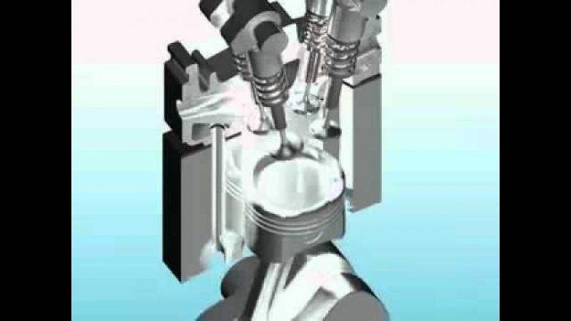 ГРМ газораспределительный механизм engine camshaft
