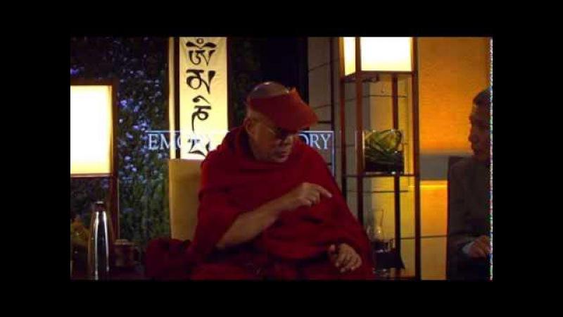 Далай-лама. Диалог с учеными о сострадании (университет Эмори). Часть 1