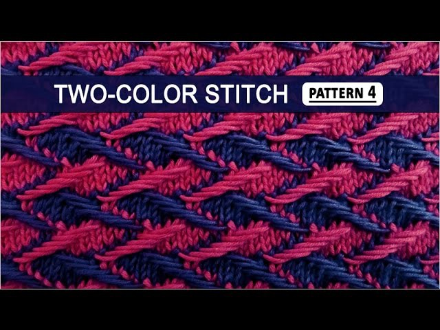Two-color Stitch Pattern 4 - 3222015